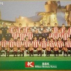Collezionismo sportivo: POSTAL ATHLETIC OFICIAL 1998-1999 PLANTILLA DE LA CHAMPIONS GUGGENHEIM VIZCAYA PAIS VASCO FUTBOL. Lote 106397319