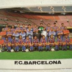 Coleccionismo deportivo: POSTAL FC BARCELONA 1990-1991.. Lote 106555099