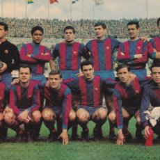 Coleccionismo deportivo: BARÇA: POSTAL DE UN EQUIPO DE LA TEMPORADA 65-66. Lote 108799012