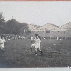 Coleccionismo deportivo: POSTAL FOTOGRAFIC ATOCHA FUTBOL REAL SOCIEDAD SAN SEBASTIAN GUIPUZCOA PHOTO CARTE PAIS VASCO AÑOS 10. Lote 107191283