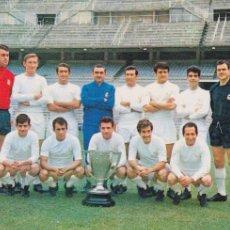 Coleccionismo deportivo: REAL MADRID: POSTAL DE LA TEMPORADA 67-68. Lote 107357531