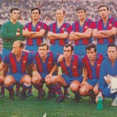 Coleccionismo deportivo: BARÇA: POSTAL DE LA TEMPORADA 69-70. Lote 107357407