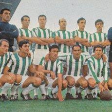 Coleccionismo deportivo: CÓRDOBA CF: POSTAL DE LA TEMPORADA 67-68. Lote 107829367