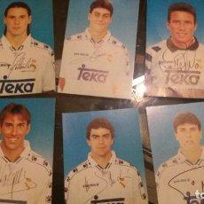 Coleccionismo deportivo: 7 POSTALES REAL MADRID 1994. Lote 107938287