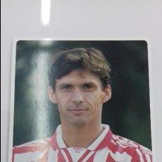 Coleccionismo deportivo: POSTAL OFICIAL CUCO ZIGANDA ATHLETIC CLUB DE BILBAO ORIGINAL FUTBOL VASCO. Lote 109898031
