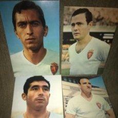 Coleccionismo deportivo: LOTE ANTIGUAS POSTALES FUTBOL REAL ZARAGOZA FUTBOLISTAS AÑOS 50-60. Lote 110261443