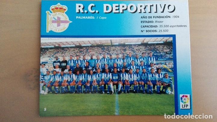 Coleccionismo deportivo: COLECCION COMPLET EQUIPOS FUTBOL LIGA 1998 EXTREMADURA OVIEDO MALLORCA ATHLETIC REAL TENERIFE RACING - Foto 6 - 111760051