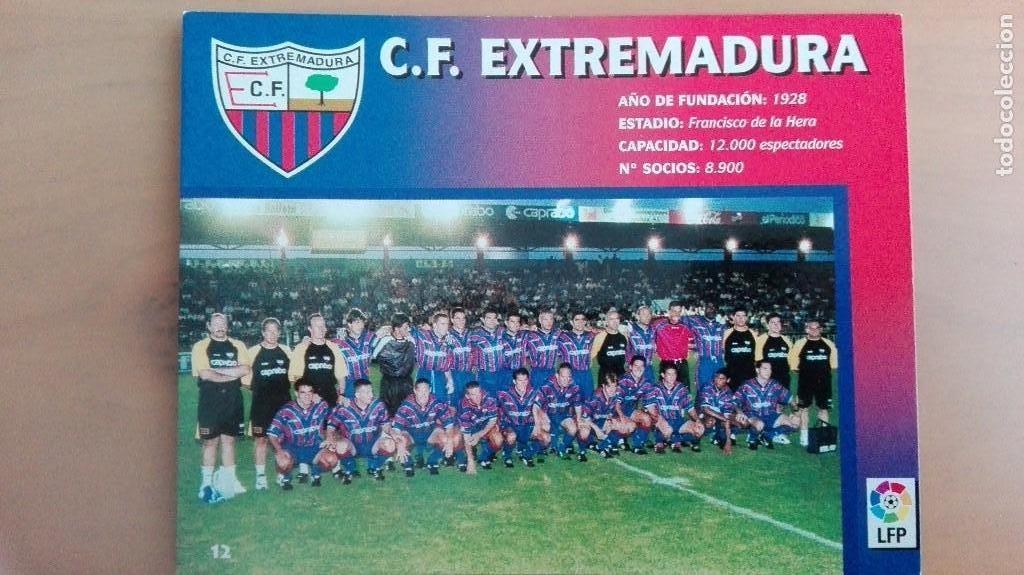 Coleccionismo deportivo: COLECCION COMPLET EQUIPOS FUTBOL LIGA 1998 EXTREMADURA OVIEDO MALLORCA ATHLETIC REAL TENERIFE RACING - Foto 13 - 111760051