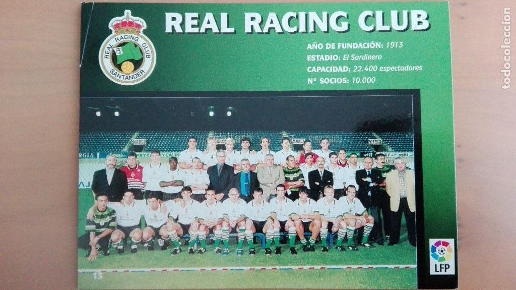 Coleccionismo deportivo: COLECCION COMPLET EQUIPOS FUTBOL LIGA 1998 EXTREMADURA OVIEDO MALLORCA ATHLETIC REAL TENERIFE RACING - Foto 14 - 111760051