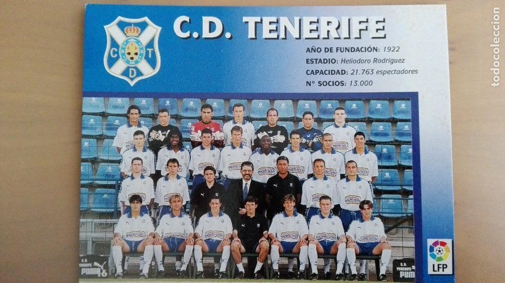 Coleccionismo deportivo: COLECCION COMPLET EQUIPOS FUTBOL LIGA 1998 EXTREMADURA OVIEDO MALLORCA ATHLETIC REAL TENERIFE RACING - Foto 17 - 111760051