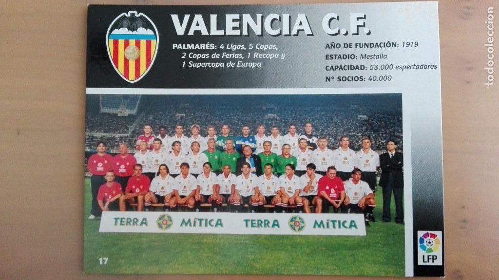 Coleccionismo deportivo: COLECCION COMPLET EQUIPOS FUTBOL LIGA 1998 EXTREMADURA OVIEDO MALLORCA ATHLETIC REAL TENERIFE RACING - Foto 18 - 111760051