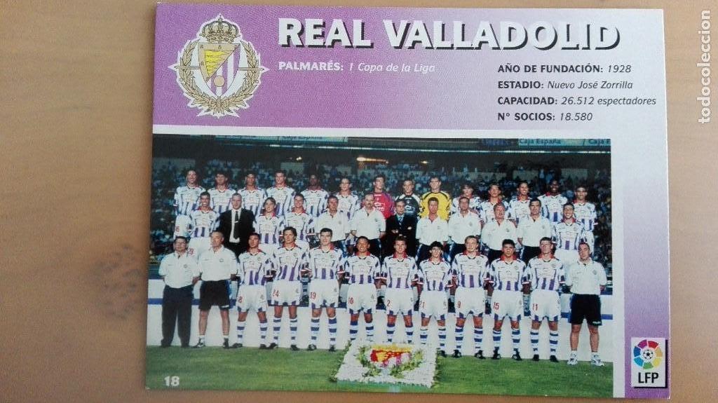 Coleccionismo deportivo: COLECCION COMPLET EQUIPOS FUTBOL LIGA 1998 EXTREMADURA OVIEDO MALLORCA ATHLETIC REAL TENERIFE RACING - Foto 19 - 111760051