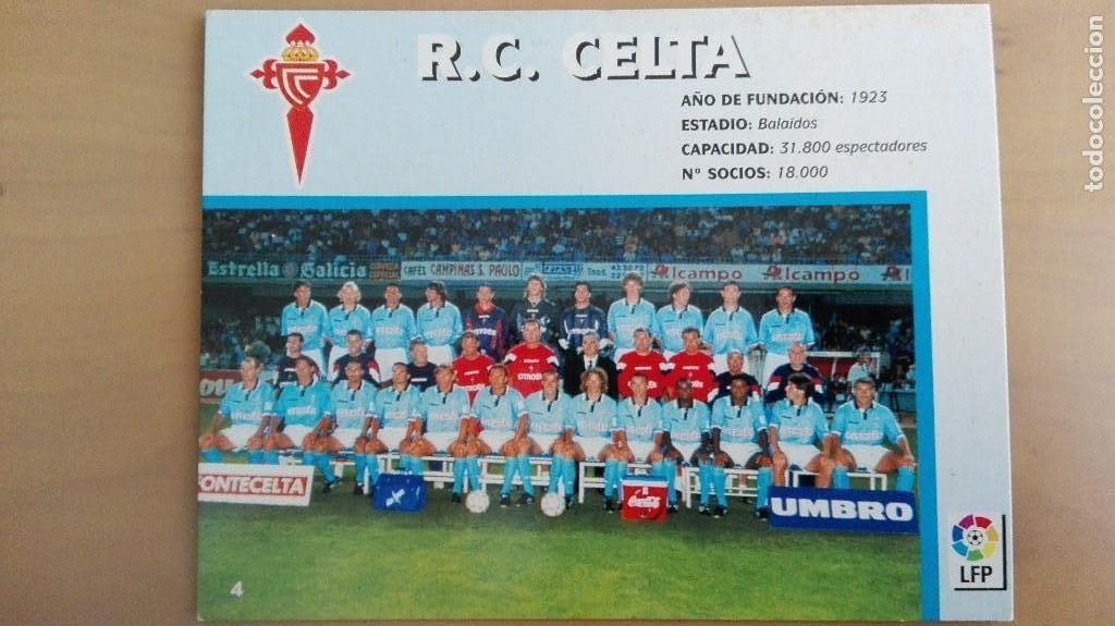 Coleccionismo deportivo: COLECCION COMPLET EQUIPOS FUTBOL LIGA 1998 EXTREMADURA OVIEDO MALLORCA ATHLETIC REAL TENERIFE RACING - Foto 5 - 111760051
