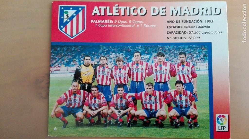 Coleccionismo deportivo: COLECCION COMPLET EQUIPOS FUTBOL LIGA 1998 EXTREMADURA OVIEDO MALLORCA ATHLETIC REAL TENERIFE RACING - Foto 7 - 111760051
