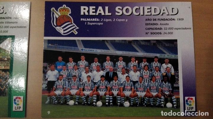 Coleccionismo deportivo: COLECCION COMPLET EQUIPOS FUTBOL LIGA 1998 EXTREMADURA OVIEDO MALLORCA ATHLETIC REAL TENERIFE RACING - Foto 10 - 111760051