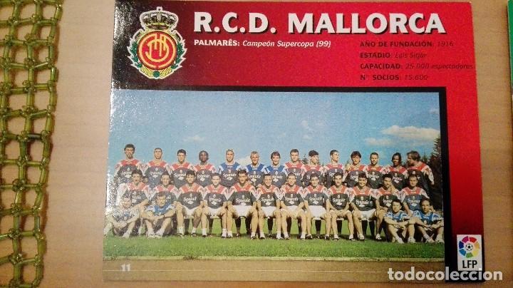 Coleccionismo deportivo: COLECCION COMPLET EQUIPOS FUTBOL LIGA 1998 EXTREMADURA OVIEDO MALLORCA ATHLETIC REAL TENERIFE RACING - Foto 12 - 111760051
