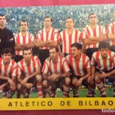 Coleccionismo deportivo: POSTAL ATLETICO DE BILBAO. N-187. TEMPORADA 1968-69. NO ESCRITA. NO CIRCULADA. Lote 112926891