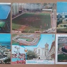 Coleccionismo deportivo: ESTADIO CAMPO DE FÚTBOL POSTAL STADIUM SUPER LOTE 60 POSTALES ESPAÑA VER FOTOS. Lote 113683983