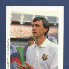 Coleccionismo deportivo: FUTBOL CLUB BARCELONA: JOHAN CRUYFF AÑOS 90. Lote 212723170
