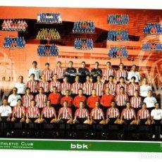 Coleccionismo deportivo: TARJETA ATHLETIC CLUB BILBAO. TEMPORADA 2002-2003. Lote 184689447