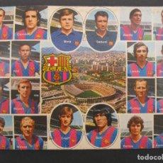 Coleccionismo deportivo: POSTAL F.C. BARCELONA - TEMPORADA 1973/74.. Lote 116245223