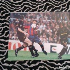 Coleccionismo deportivo: ANTIGUA FOTO LÁMINA DEL F. C. BARCELONA, BARÇA DREAM TEAM AÑOS 90 - ROMARIO (MIDE 23 X 18 CM). Lote 116735307