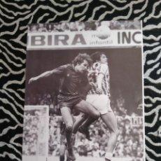 Coleccionismo deportivo: ANTIGUA FOTO LÁMINA DEL F. C. BARCELONA, BARÇA AÑOS 80 - SIMONSEN (MIDE 23X18 CM). Lote 116876147