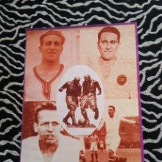 Coleccionismo deportivo: ANTIGUA FOTO LÁMINA DEL REAL MADRID - JUGADORES AÑOS 1910-1920 (MIDE 23X18 CM). Lote 116974431