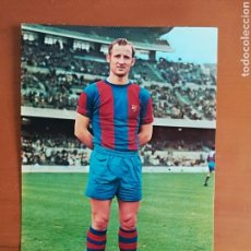 Coleccionismo deportivo: POSTAL GALLEGO JUGADOR FC BARCELONA - BARÇA FÚTBOL CULÉ. Lote 117027380