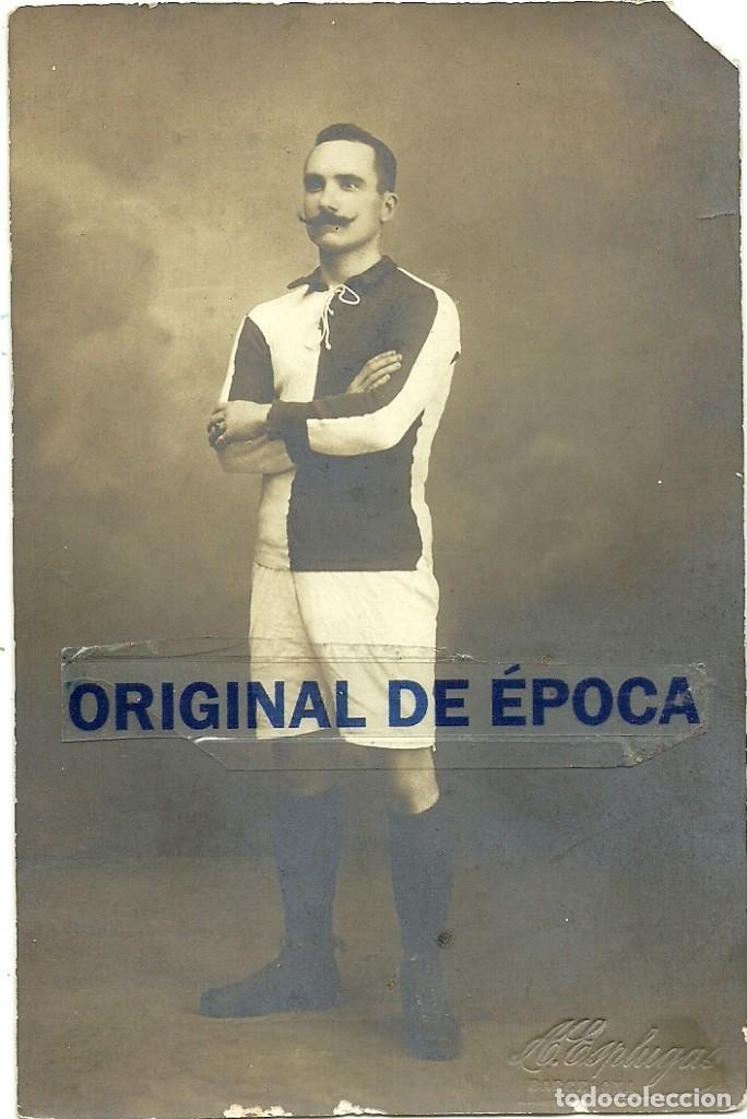 (F-180434)FOTOGRAFIA DE JOAQUIM PERIS DE VARGAS,PRESIDENTE DEL F.C.BARCELONA,1914-1915 (Coleccionismo Deportivo - Postales de Deportes - Fútbol)