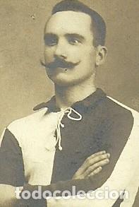 Coleccionismo deportivo: (F-180434)FOTOGRAFIA DE JOAQUIM PERIS DE VARGAS,PRESIDENTE DEL F.C.BARCELONA,1914-1915 - Foto 2 - 117565835