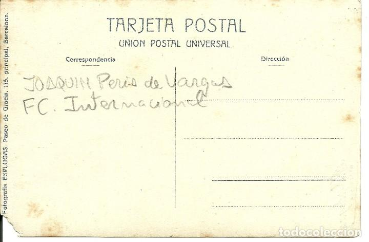 Coleccionismo deportivo: (F-180434)FOTOGRAFIA DE JOAQUIM PERIS DE VARGAS,PRESIDENTE DEL F.C.BARCELONA,1914-1915 - Foto 3 - 117565835