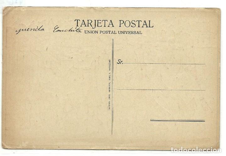 Coleccionismo deportivo: (PS-55717)EL DILUVIO.Postal publicitaria ilustrada Passarell. FC BARCELONA,R.C.D.ESPAÑOL,ETC. - Foto 2 - 117914007