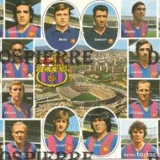 Collectionnisme sportif: POSTAL, PLANTILLA DEL F.C. BARCELONA, SIN CIRCULAR. Lote 118149611