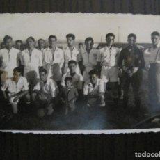 Coleccionismo deportivo: FUTBOL - PORT BOU - S.A.CE.-ES FOTO NO POSTAL - VER FOTOS -(52.692). Lote 118355763