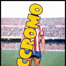 Coleccionismo deportivo: FOTOGRAFIA JUGADOR AGUILAR AT MADRID MUY BUENA CALIDAD TAMAÑO 10X15 CENTIMETROS NICCROMO. Lote 120937386