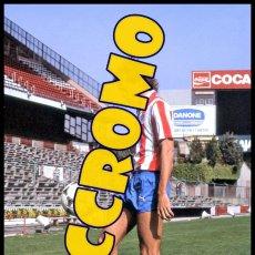 Coleccionismo deportivo: FOTOGRAFIA JUGADOR ALEMAO AT MADRID MUY BUENA CALIDAD TAMAÑO 10X15 CENTIMETROS NICCROMO. Lote 118443599