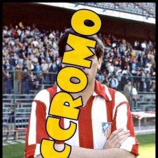 Coleccionismo deportivo: FOTOGRAFIA JUGADOR CLEMENTE AT MADRID MUY BUENA CALIDAD TAMAÑO 10X15 CENTIMETROS NICCROMO. Lote 118444287