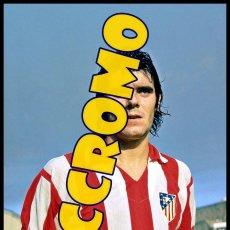 Coleccionismo deportivo: FOTOGRAFIA JUGADOR LEAL AT MADRID MUY BUENA CALIDAD TAMAÑO 10X15 CENTIMETROS NICCROMO. Lote 118445467