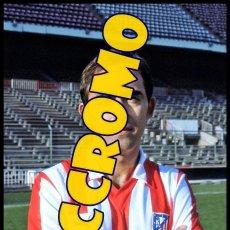 Coleccionismo deportivo: FOTOGRAFIA JUGADOR MINGUEZ AT MADRID MUY BUENA CALIDAD TAMAÑO 10X15 CENTIMETROS NICCROMO. Lote 118446139