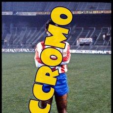 Coleccionismo deportivo: FOTOGRAFIA JUGADOR PEDRO PABLO AT MADRID MUY BUENA CALIDAD TAMAÑO 10X15 CENTIMETROS NICCROMO. Lote 120937468