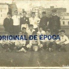 Coleccionismo deportivo: (F-180428)FOTOGRAFIA EQUIPO DE FOOT-BALL F.C.ALEGRE AÑO 1920. Lote 118465691