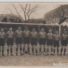 Collectionnisme sportif: POSTAL FOTOGRÁFICA REAL SOCIEDAD CONTRA UN EQUIPO ALEMAN. PHOTO CARTE FUENTERRABIA SAN SEBASTIAN. Lote 119029811