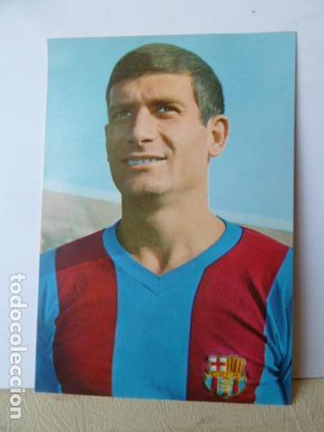 ELADIO- JUGADOR DEL F.C.BARCELONA POSTAL FOTO SEGUI (Coleccionismo Deportivo - Postales de Deportes - Fútbol)