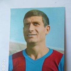 Coleccionismo deportivo: ELADIO- JUGADOR DEL F.C.BARCELONA POSTAL FOTO SEGUI. Lote 119058399