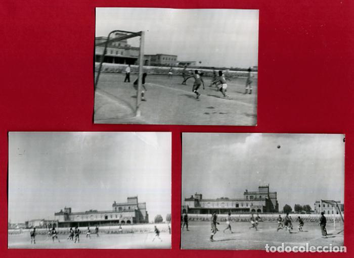Coleccionismo deportivo: LOTE DE 6 FOTOGRAFIAS, FOTOS DE FUTBOL ,VALENCIA, MALVARROSA Y SAN JUAN DE DIOS, ORIGINALES, C - Foto 2 - 120738547