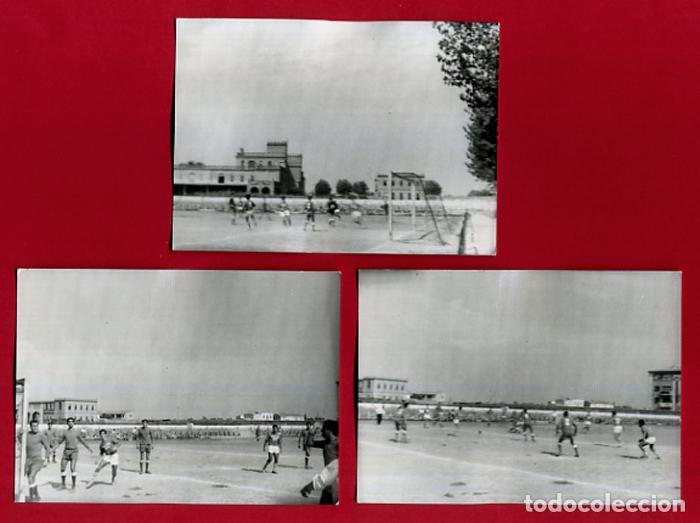 Coleccionismo deportivo: LOTE DE 6 FOTOGRAFIAS, FOTOS DE FUTBOL ,VALENCIA, MALVARROSA Y SAN JUAN DE DIOS, ORIGINALES, C - Foto 3 - 120738547