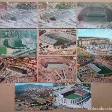 Coleccionismo deportivo: ESTADIO NOU CAMP BARÇA POSTAL LOTE 11 POSTALES F.C. BARCELONA FÚTBOL. Lote 120816595
