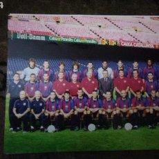 Coleccionismo deportivo: FC. BARCELONA. FOTOGRAFIA ORIGINAL EN PAPEL KODAK DE LA ÉPOCA DEL.PRESIDENTE GASPART CON REXACH .. Lote 121820028