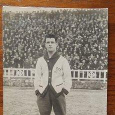 Coleccionismo deportivo: SERRA ( C.D. EUROPA ) - MAGNIFICA POSTAL FOTOGRAFICA DE 1923. Lote 122436195